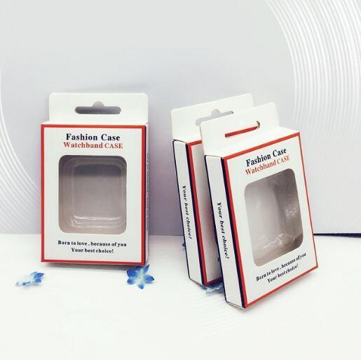 Nur Kleinpaketkästen Kasten Blasen-Halter für TPU schützende Stoßfall-Abdeckung für Apple-Uhr iWatch Reihe 4/3/2/1