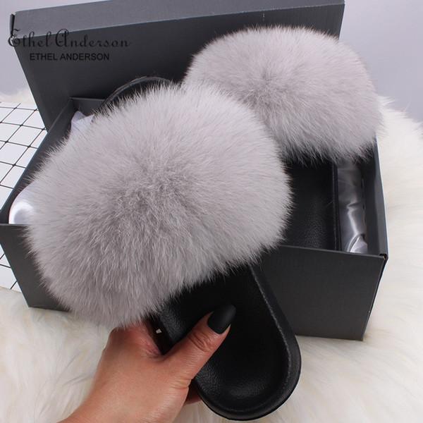 Grey Fox Fur