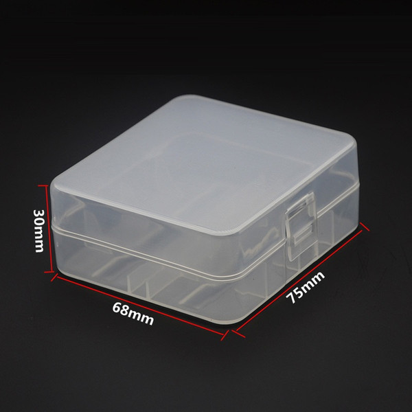Home Organization box 26650 Battery Case Holder Box For 2 X 26650 rechargeable li-ion Batteries PP 26650 Battery Storage Box Organizer case