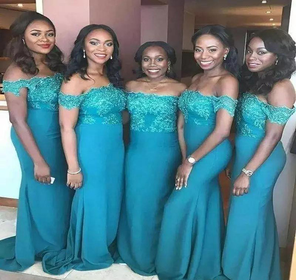 South African Bridesmaid Dresses 2019 Backless Summer Country Garden Formal Wedding Party Guest Maid of Honor Gowns Plus Size Custom Made
