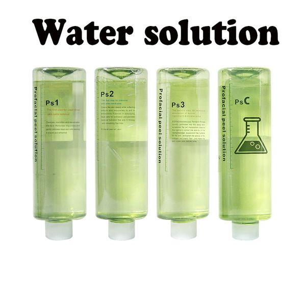 Máquina hidrafacial profissional usar solução de peeling aqua 500 ml por garrafa soro facial aqua soro facial hydra para pele normal CE