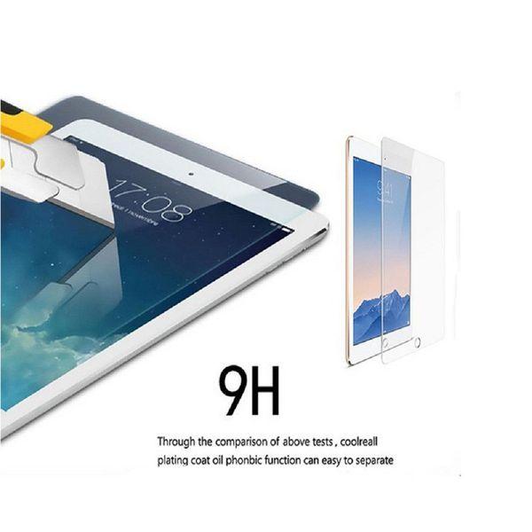 Ipad2 için temperli Cam 0.3 MM Ekran Koruyucu / 3/4/5 Pro 2017 2 3 4 Hava / Hava 2 / Mini 4 / Mini 5 koruyucu Cam Filmi için iPad ssc008