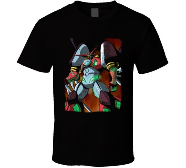 Голень Геттер 1 аниме Майка печати с коротким рукавом мужчины топ новинка футболки мужской бренд Clothing