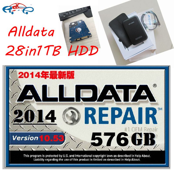2016 New Alldata 10.53 All data auto repair software+Mitchell on demand 2015+ElsaWin5.2+Vivid Workshop data ect 28in1tb new hdd