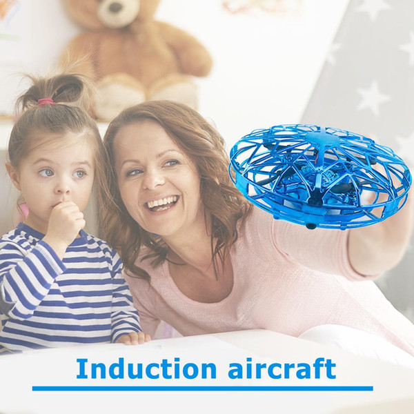 best selling Funny Induction Aircraft UFO Four-axis Aircraft Drone CECertification 6 Channels Induction electric RC toy