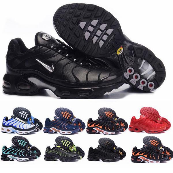 Compre Nike Air Max TN Plus Vapormax Flyknit Run Utility Off White Sneaker Blanco Negro REFLECTIVE Medium Olive Burgundy Crush Diseñador Para Hombre