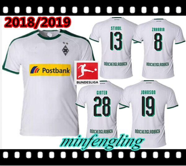 2018 2019 Borussia Monchengladbach home CAMISA PERSONALIZAR camiseta de  fútbol 2019 11 RAFFAEL 13 STINDL 6bae2810e20c1