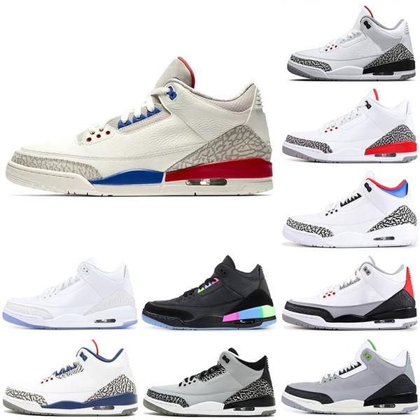 2019 Erkek Basketbol Ayakkabıları Tinker JTH Kore-Seul saf beyaz Gerçek Mavi kurt gri Sneakers Spor Ayakkabı boyutu 7-13