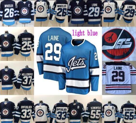 Winnipeg jatos 29 Patrik Laine Jersey Mens 26 Blake rodas 33 Dustin byfu glien 55 Mark Scheifele Hodkey Jerseys 2016 Heritage clássico
