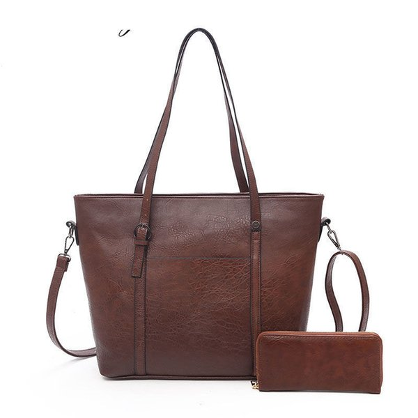 good quality 2019 Large Capacity Women Bags Shoulder Tote Bags Women Messenger Bags With Wallet Famous Designers Leather Handbags Sac