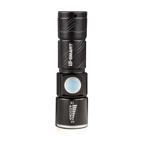 Bicycle Light Power Bank Waterproof USB Rechargeable Bike Light Side Warning Flashlight #749651
