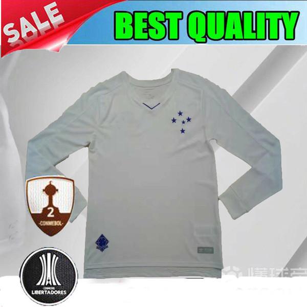 2e5a5c8fc2f24 2018 2019 camisa de futebol CRUZEIRO LONGA manga longa 18 19 DE ARRASCAETA  Sassa ROBINHO