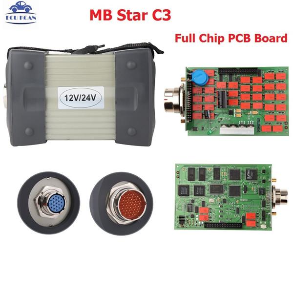 2019 multiplexeur d'outil de diagnostic DAS Mb Star C3 Xentry DAS de haute qualité avec logiciel interne HDD V2018.12