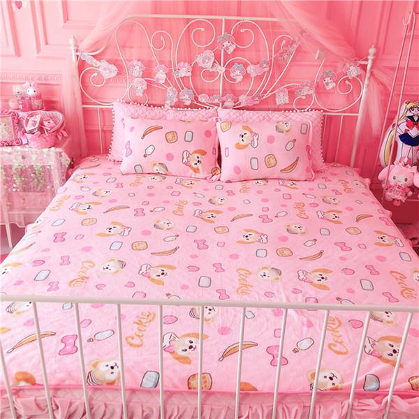IVYYE 1PCS Duffy ShellieMay Anime Blanket Plush Velvet Warm Decoration Soft Bed Home Throw Sofa Blankets Unisex Gifts NEW
