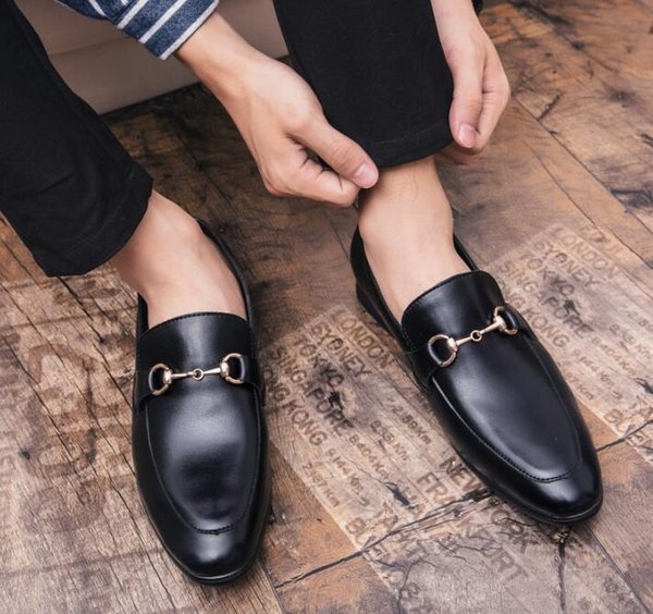 Men classics wedding groom Shoes Male Luxury designer Horsebit style Homecoming Dress Wedding Party Prom shoes Sapato Social zapatos cx642