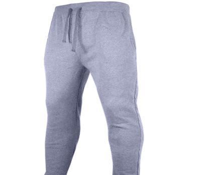 Fabricante 100% lana de poliéster de encargo en blanco con pantalones de los bolsillos basculador para hombre personalización de algodón 100% pantalones de chándal haz baratos deportes Ypf202