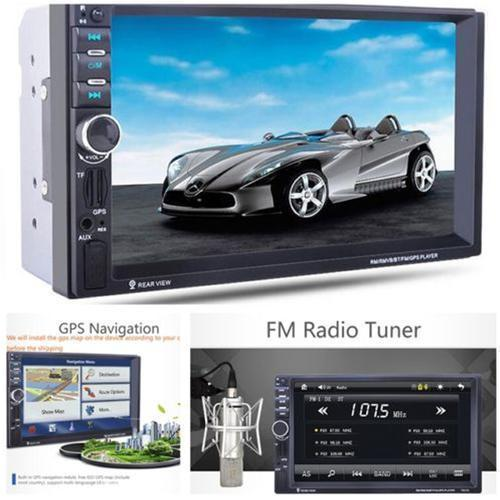 2019 Universal Black 12V 7 0HD Car MP5 Player GPS Navigation Bluetooth FM  Accessorie From Fan0498591, $38 67 | DHgate Com