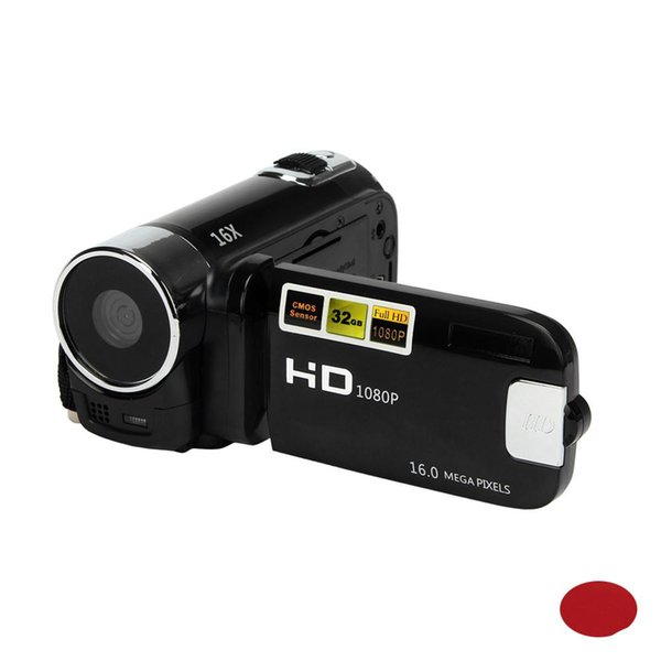 EastVita HD 1080P 12MP 2,4 Zoll TFT LCD HD 1080P 16X Digitalzoom-Camcorder Video-DV-Kamera Heimgebrauch Digitalkamera