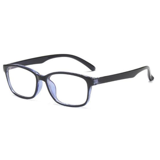 Nueva venta caliente de la computadora marco de cristal hombres y mujeres gafas marco azul lente gafas protección UV Blu-ray gafas envío gratis