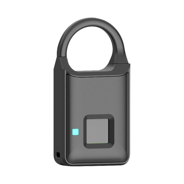 best selling Anytek P5 Smart Fingerprint Padlock Security Lock Touch Anti-Theft USB charge for Backpack Suitcase Handbag Luggage