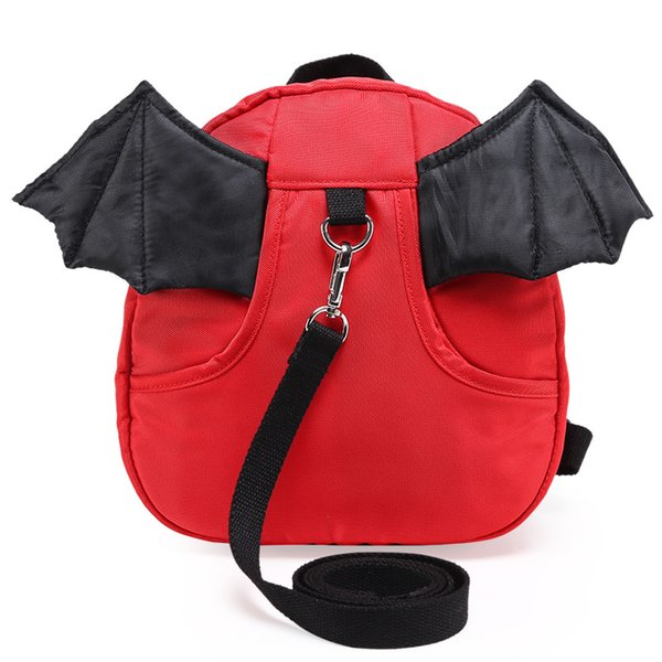New children school bag for boys girls cute anti-lost backpack kids kindergarten bag mini baby cartoon Mochila Escolar For Gift