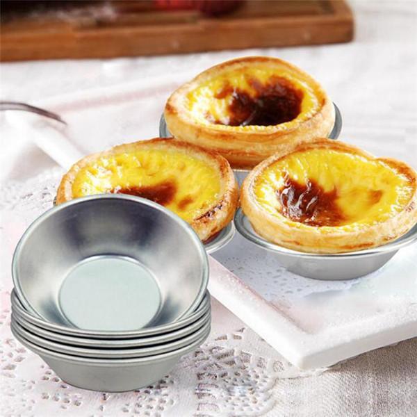 Aluminiumlegierung Pudding Eierkuchen backform Küche backwerkzeug Ei Törtchen Form Puddingform T9I0018