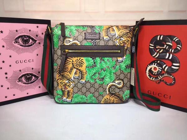 2020 uomini di modo di e borsa delle donne di cuoio, singolo sacchetto di spalla, doppio sacchetto di spalla, il modello regalo di Natale: 406.408-1 dimensioni: 29-27,5