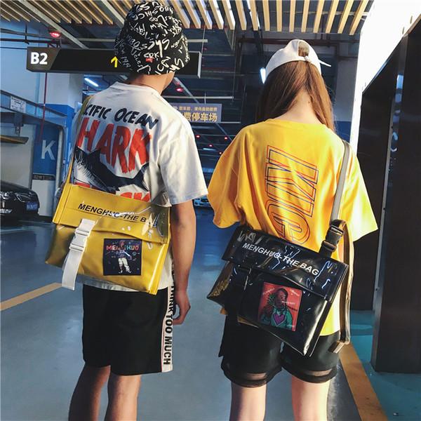 Amazing2019 Single Woman Bag Épaule Amoureux Paquet Oblique Cartable Fille Concise All-match Marée