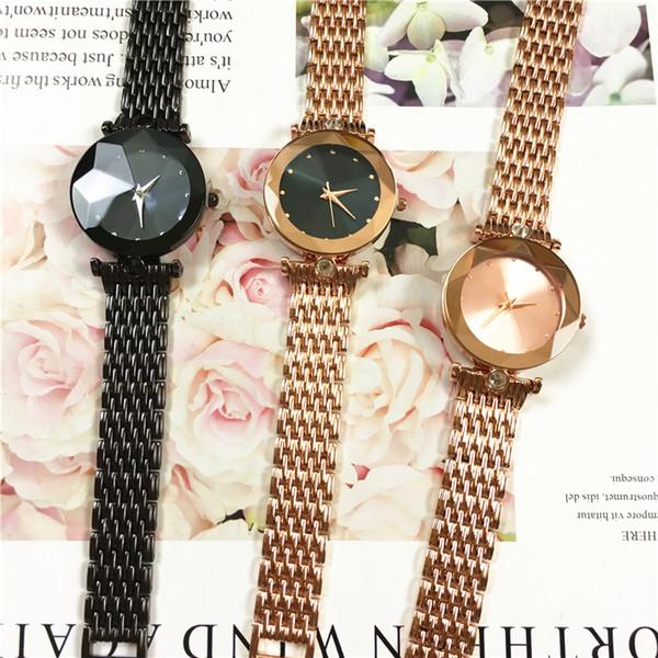 Новый топ модный бренд платье часы женщина браслет из розового золота роскошные наручные часы прямая поставка леди ну вечеринку кварцевые часы романтические наручные часы