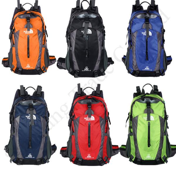 Kuzey F Sırt Çantası Büyük Su geçirmez Sırt Seyahat Dağcılık Kamp Yürüyüş Doğa Sporları Çantaları Okul Omuz Çantası 6 Renkler C91703