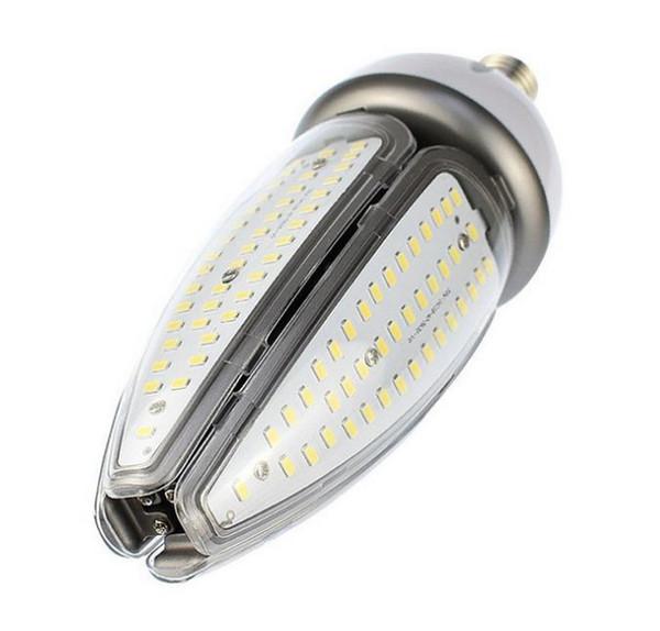 LED corn bulb lights 50 watt E27 E40 screw base high bay canopy light 50W 120Lm/W CFL HID replacement AC100-277V LLFA