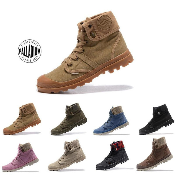 Best quality Original Mens palladium Brand boots Womens Designer Sports Red White Winter Sneaker Casual Trainers Luxury ACE boots