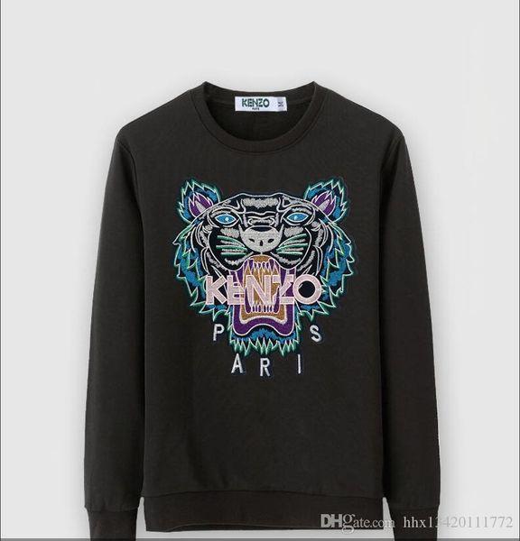 2020 New Fashion Letter Print Hoodies Male Warm Fleece Coat Men Brand Hip Hop O-Neck Sweatshirts @8002
