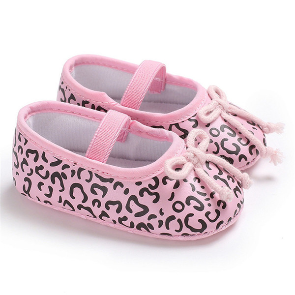 Baby Shoes Girls Toddler Newborn Kids Baby Girls Bowknot Soft Sloe Anti-slip Shoes Baby Girl Shoes First Walker A8L07