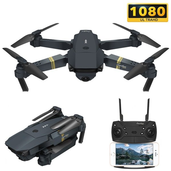 E58 WIFI FPV With Wide Angle HD Camera High Hold Mode Foldable Arm RC Quadcopter Drone RTF VS VISUO XS809HW JJRC H37 (Retail)