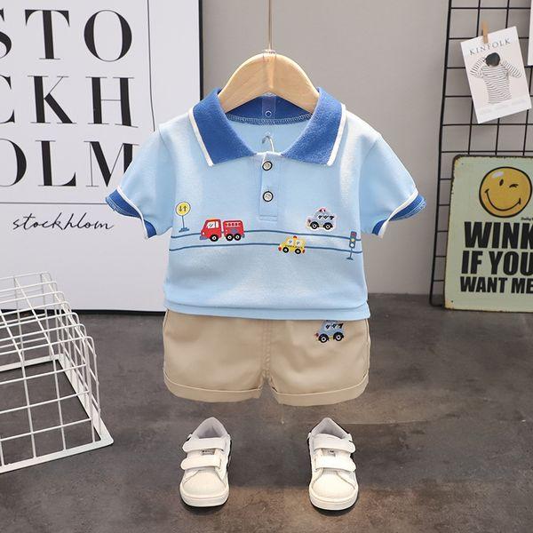 Sky Blue Sj Car Short Sleeve