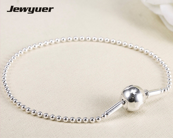 Essence style Bracelets For Women 925 Sterling Silver bangles Fit small hole Essence Charms Beads DIY fine jewelry EYL004 J190523