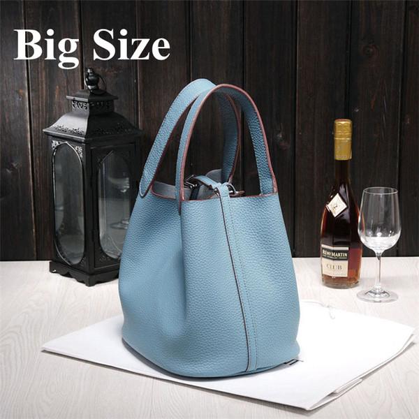 borse all'ingrosso delle nuove donne di H famosi marchi di alta qualità sacchetti di cuoio genuini di marca del progettista Picotin blocco signore che acquistano bage5e0 #