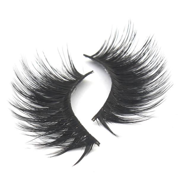 27 Styles 017 False Eyelashes 3D Mink Eyelashes 3D Silk Protein Lashes Soft Natural Thick Fake Eyelashes Eye Lashes Extension