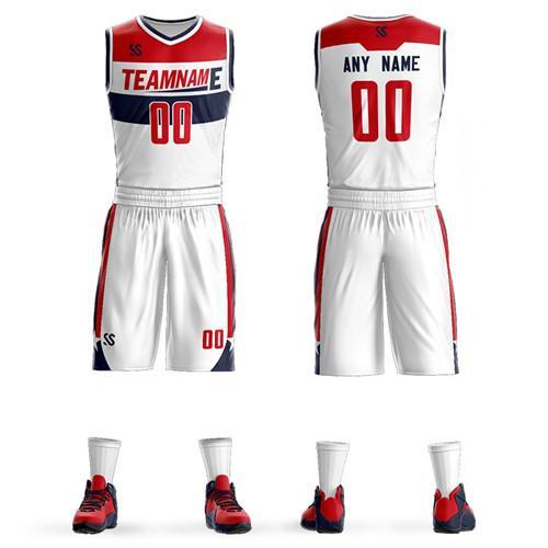 Nom personnalisé Numéro Adulte Collège Vert Maillots De Basket-ball USA retrousser maillot De Basket-ball Jeunesse Pas cher basket Uniformes Ses