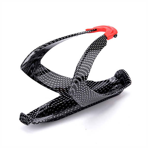 Bicycle Bike Water Bottle Cage Super Tough Road Cycling MTB Glass Botellero Bottle Holder Carbon Fiber Drink Cup Rack Bike Part #80890