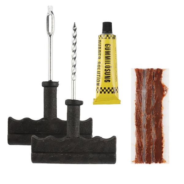 Nuovo pneumatico dell'automobile Strumenti di riparazione senza camera d'aria di pneumatici riparazione pneumatici Plug Kit Ago Patch strumenti di correzione del Cemento Utile Accessori auto