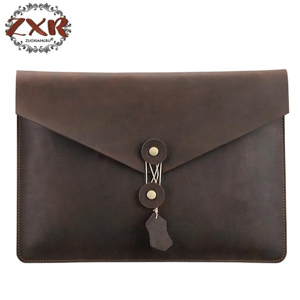 Simple Design Leather Men Briefcase With Business Men Document Bag Classic Office Mens Bags Computer Bag #215025