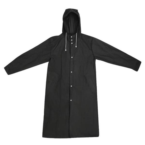 Waterproof Outdoor Raincoat Adults Thicken Hooded Raincoat Women Men Camping Travel Rainwear Rain Clothes Covers Rainwear