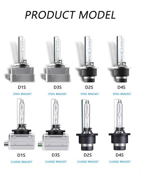 D1S / D2S / D3S / D4S HID Xenon Işık Philips Kaliteli Yedek Ampul Dönüşüm Kiti 12V Araç FarlarıLamplar Farlar