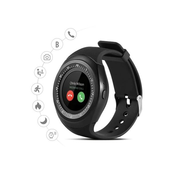 Y1 Bluetooth Smart Phone regarder le sport Smartwatch Livré avec varie couramment utilisé Apps, utilisez SMS avec votre montre