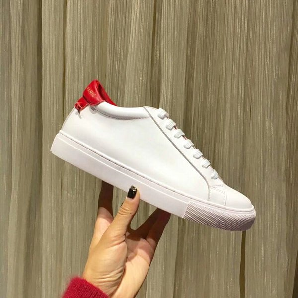 New Designer Name Brand Mans Casual Shoes Flat Kanye West Fashion Wrinkled Leather Lace-up Low Cut Trainers Runaway Arena Shoes hy18033002