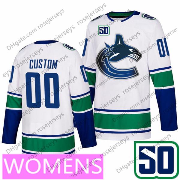 Женщины#039; s Белый (S-XXL) с 50-й
