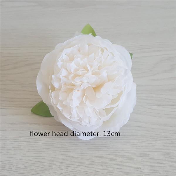Tête de fleur de pivoine 13cm