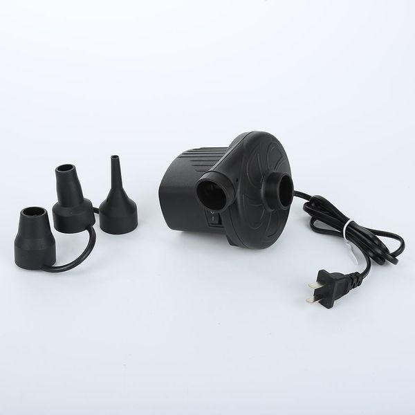 Venta al por mayor - AC 220V 3500Pa Bomba de aire eléctrica 300L / min para colchón de aire Inflatabl Bomba Barco Colchón de aire Aerodeslizador Natación Anillo Accesorios para piscinas